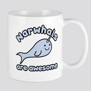 Narwhals Are Awesome Mug