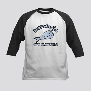Narwhals Are Awesome Kids Baseball Jersey