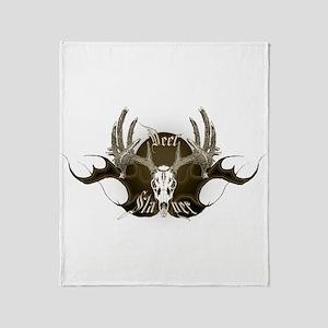 Deer Slayer Throw Blanket