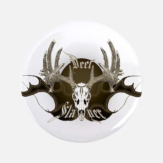 """Deer Slayer 3.5"""" Button"""