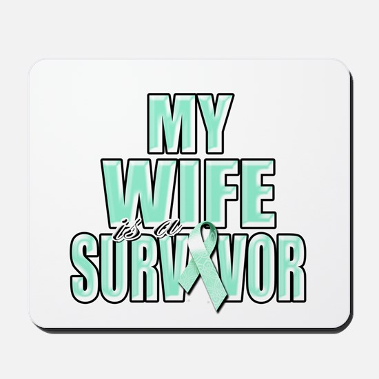 My Wife is a Survivor Mousepad