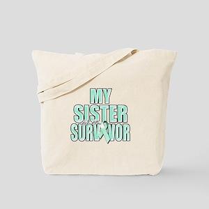 My Sister is a Survivor Tote Bag