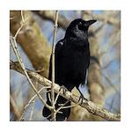 Crow Tile Coaster