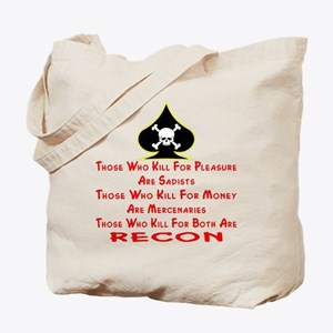 Kill For Both Are RECON Tote Bag