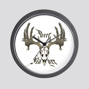 Deer slayer 1 Wall Clock