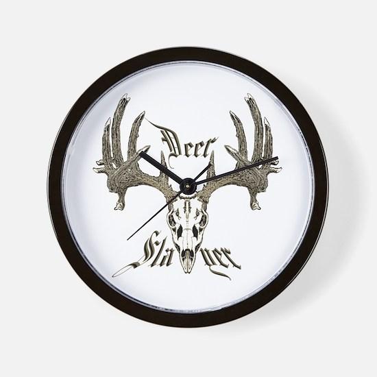 Deer slayer 1 Wall Clock