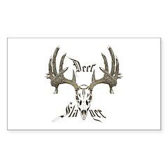 Deer slayer 1 Sticker (Rectangle 10 pk)