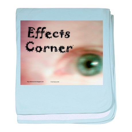 Effects Corner baby blanket
