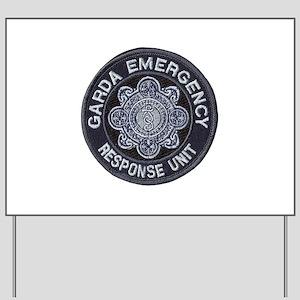 Irish Police SWAT Yard Sign