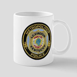Lexington Metropolitan Police Mug