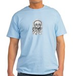 B&W Skull Light T-Shirt