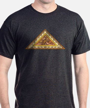 Golden Aztec Eagle T-Shirt
