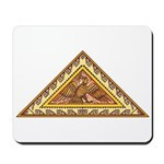 Golden Aztec Eagle Mousepad