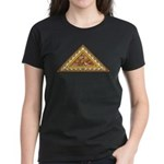 Golden Aztec Eagle Women's Dark T-Shirt