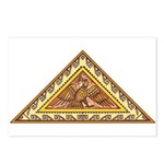Golden Aztec Eagle Postcards (Package of 8)