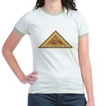 Golden Aztec Eagle Jr. Ringer T-Shirt