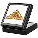 Golden Aztec Eagle Keepsake Box