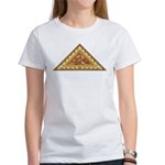 Golden Aztec Eagle Women's T-Shirt