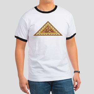 Golden Aztec Eagle Ringer T