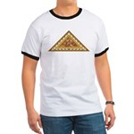 Golden Aztec Eagle Ringer T