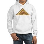 Golden Aztec Eagle Hooded Sweatshirt