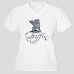 Griffen Women's Plus Size V-Neck T-Shirt