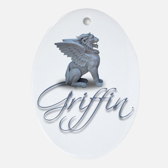 Griffen Ornament (Oval)