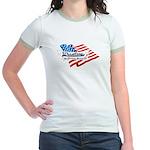 Wrestling, USA Martial Art Jr. Ringer T-Shirt