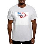 Wrestling, USA Martial Art Light T-Shirt