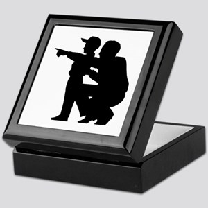 Coaching Silhouette Keepsake Box