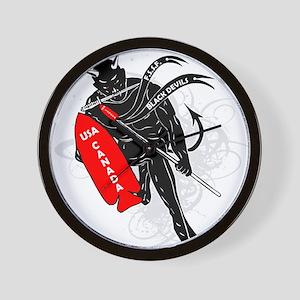 Devils Brigade Wall Clock