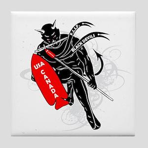 Devils Brigade Tile Coaster