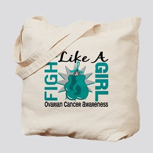 Licensed Fight Like A Girl 8.3 Ovarian Ca Tote Bag