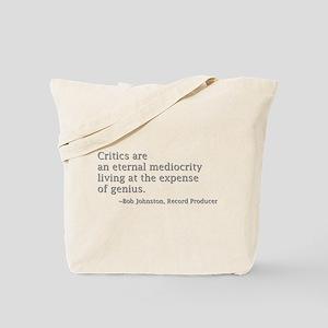 Critics Tote Bag