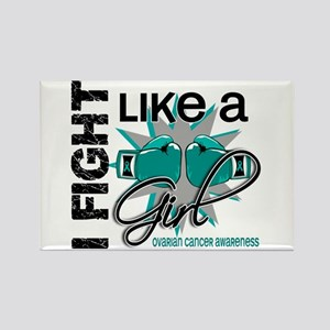 Licensed Fight Like A Girl 13.1 O Rectangle Magnet