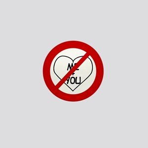 Anti Me & You Mini Button