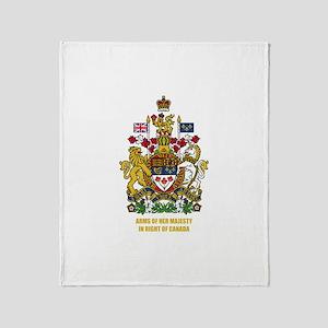 Canadian COA Throw Blanket