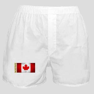 Canada Native Boxer Shorts
