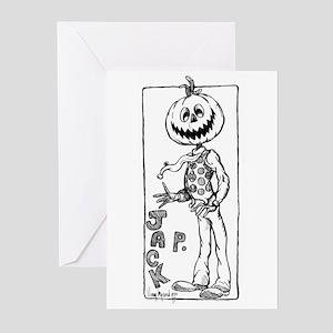 Jack Pumpkinhead Greeting Cards (Pckge of 6)