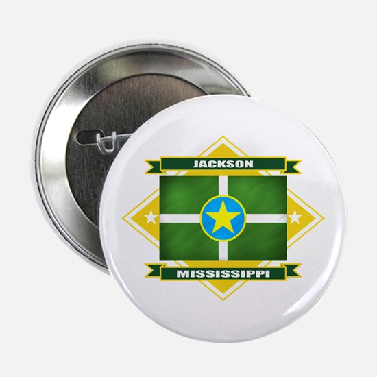 "Jackson Flag 2.25"" Button"