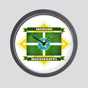 Jackson Flag Wall Clock