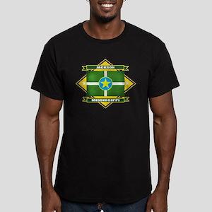 Jackson Flag Men's Fitted T-Shirt (dark)