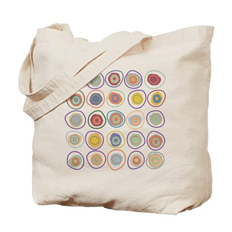 circles in cirlcles Tote Bag