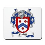 Finley Coat of Arms Mousepad