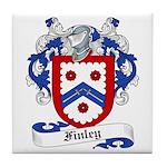 Finley Coat of Arms Tile Coaster