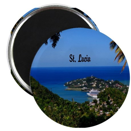 St. Lucia Magnet