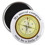 Moral Compass Magnet