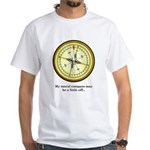 Moral Compass White T-Shirt