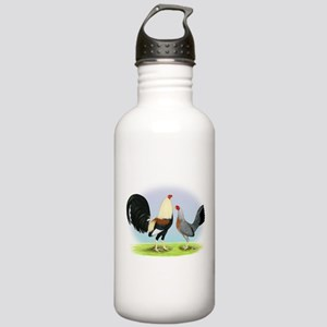 Grey Gamefowl Stainless Water Bottle 1.0L