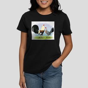 Grey Gamefowl Women's Dark T-Shirt